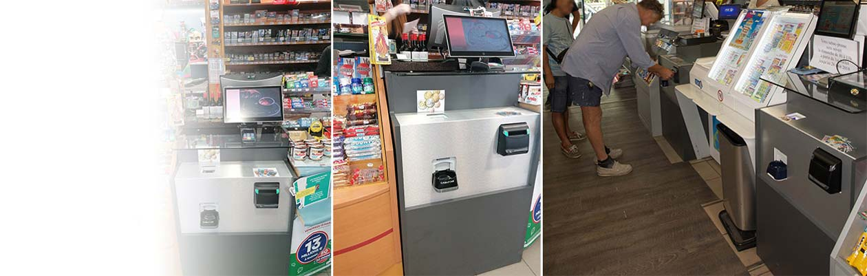 Cash recyclers for newsagents and tobacconists